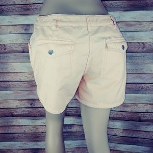 ie relaxed fit pale orange shorts size 12